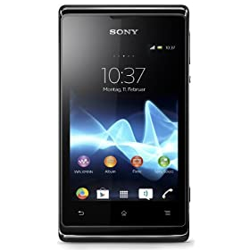 Sony Xperia E C1504 (Single SIM, Black)