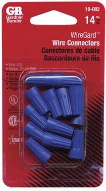 Wiregard Wire Connectors Small Twist-On Blue 14 / Card