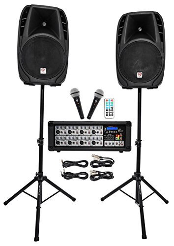 rockville-rpg2x15-package-pa-system-mixer-amp-15-speakers-stands-mics-bluetooth