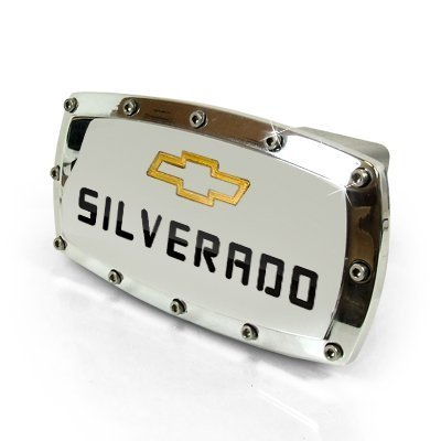 Chevrolet Silverado Billet Aluminum Tow Hitch Cover (Tow Hitch Cover Chevy compare prices)