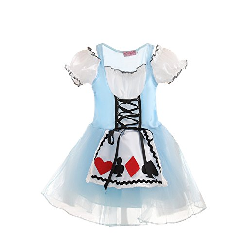 Children Kids Girls Fairytale Tutu Tulle Fancy Cosplay Dress Skirt Costume