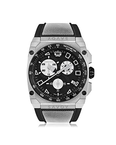 Savoy Men's Icon Extreme Black Silicone Watch