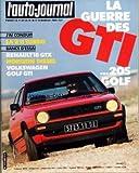 AUTO JOURNAL (L') [No 5] du 15/03/1984 - SOMMAIRE - ESSAIS - VOLKSWAGEN GOLF GTI - RE