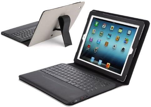 【IPEVO ダイレクト】IPEVO Typi iPad(第2世代、第3世代、第4世代対応) スタンド機能付カバーBluetoothキーボード ライトグレー Folio case + wireless keyboard for iPad 2 and iPad 3 and iPad 4 - Light Gray