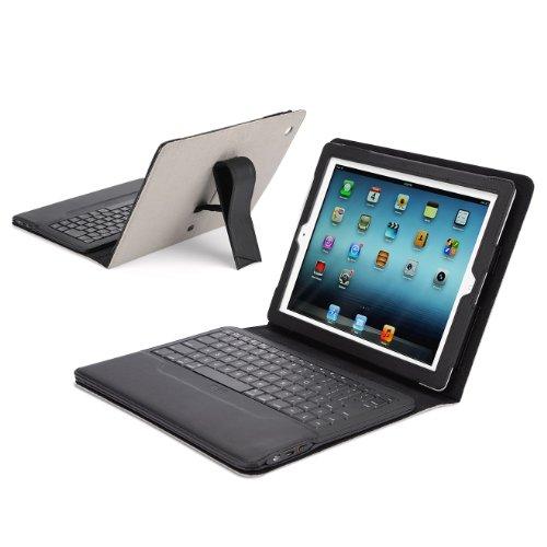 IPEVO ダイレクトIPEVO Typi iPad(第2世代、第3世代、第4世代対応) スタンド機能付カバーBluetoothキーボード ライトグレー Folio case + wireless keyboard for iPad 2 and iPad 3 and iPad 4 - Light Gray