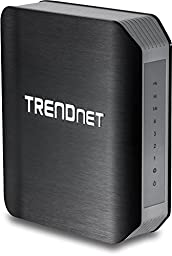 TRENDnet Wireless AC1750 Dual Band Gigabit Router with USB Share Port, TEW-812DRU Version 2.1