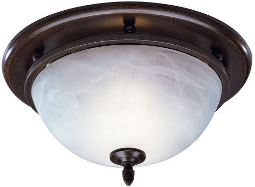 Broan 754RB Decorative Ventilation Fan and Light, Oil Rubbed Bronze