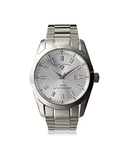 Swiss Legend Men's 21397-22S Classic Silver-Tone Stainless Steel Watch