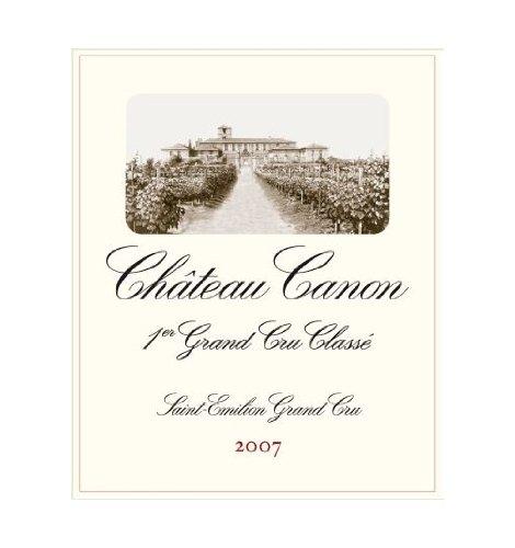 2007 Château Canon Saint-Émilion Grand Cru Classé 750 Ml