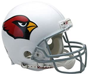 Arizona Cardinals Replica Full Size Riddell Helmet Unsigned by The Sports Mix