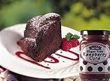 Sugarfree Chocolate Cake with Raspberry Topping