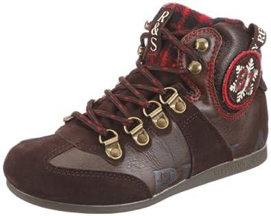 REPLAY Roxie GBS01.C0018S, Jungen, Sneaker, Braun (dk brown red 1003), EU 30