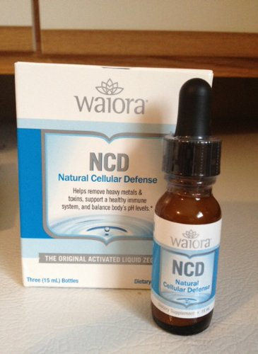Waiora (3) Bottles (15 ml. each) Natural Cellular Defense Zeolite Cleanse & Detox