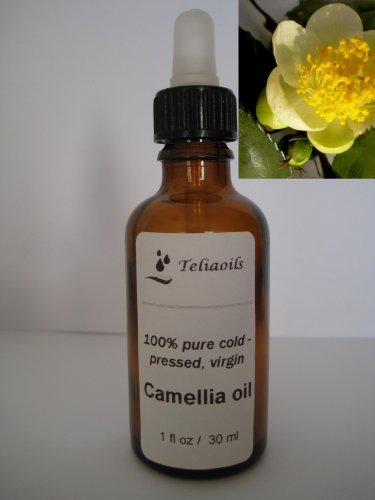 Camellia Oil 100% - Pure Cold Pressed 1oz / 30