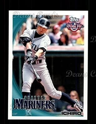 2010 Topps Opening Day # 56 Ichiro Suzuki Miami Marlins (Baseball Card) Dean's Cards 8 - NM/MT
