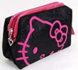 Hello Kitty Cosmetic Hand Bag Make-up Case Rose