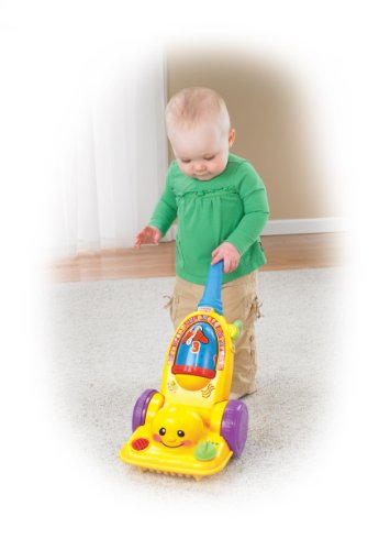 Fisher-Price Laugh & Learn Learning Vacuum Cleaner front-107343