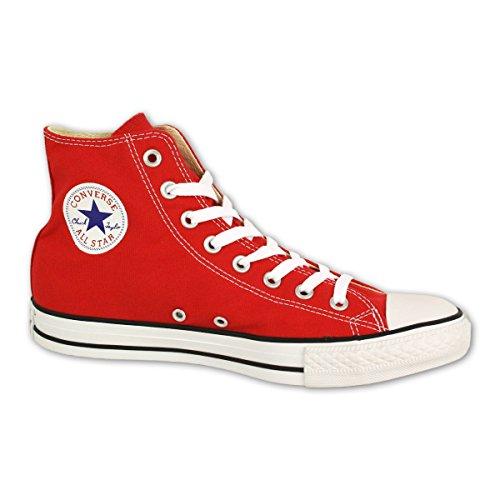 Converse Chuck Taylor All Star Hi Red 157120-70-4, Unisex-Erwachsene Sneaker, Rot (Rot), EU 53