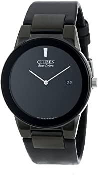 Eco Drive Axiom Leather Mens Watch