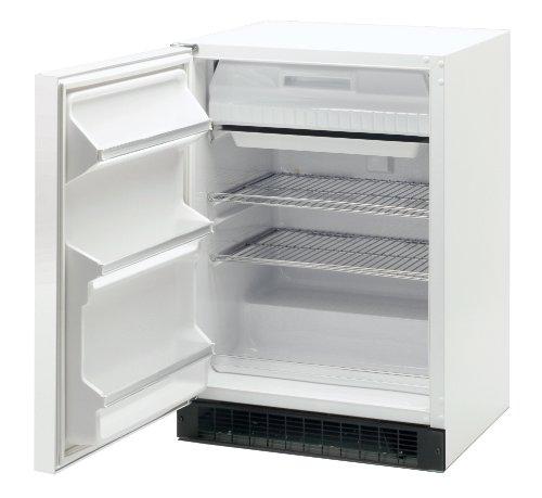 Marvel Scientific 6Crf7103 General Purpose Undercounter Combination Refrigerator/Freezer With Door Lock, Door Type Solid, Door Hinge Left, Door Color White, Cabinet Color White front-559181