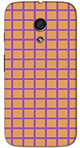 Timpax protective Armor Hard Bumper Back Case Cover. Multicolor printed on 3 Dimensional case with latest & finest graphic design art. Compatible with Motorola Moto -G-2 (2nd Gen )Design No : TDZ-22846