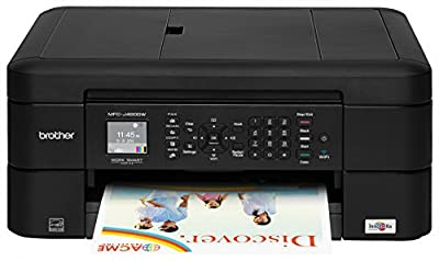 Brother Printer MFCJ460DW Wireless Color Photo Printer with Scanner, Copier & Fax, Amazon Dash Replenishment Enabled