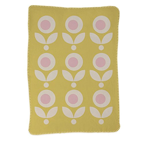 Lolli Living Brushed Cotton Blanket, Floral
