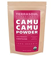 Terrasoul Superfoods Raw Camu Camu Powder (Organic)