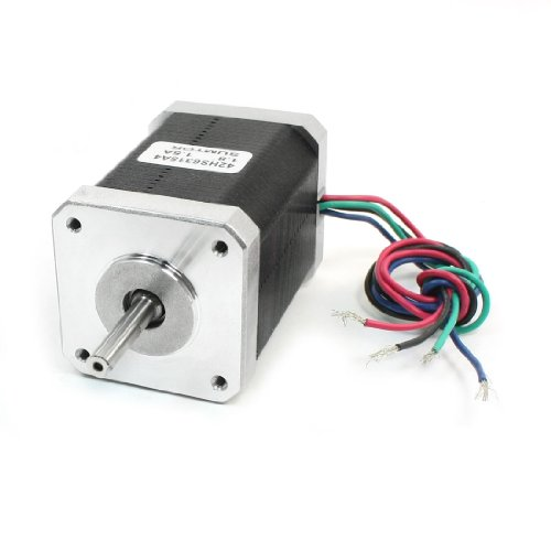 Nema 17 2 Phase Mill Robot Lathe Cnc Stepper Motor 48Mm 1.5A 107Oz.In