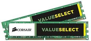 Corsair 8GB (2x4GB)  DDR3 1333 MHz (PC3 10666) Desktop Memory 1.5V