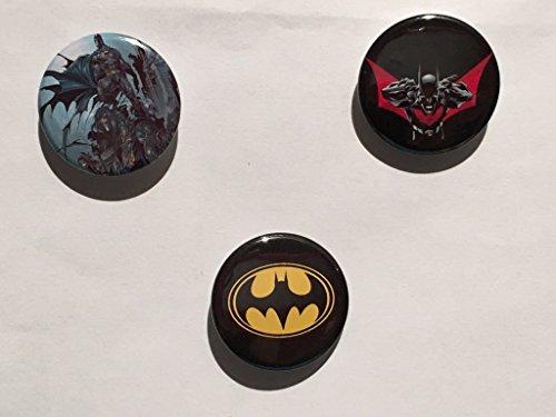 DC Comics - Batman - Set di 3 spille / Badges