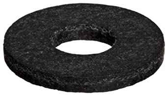 Fiberglass Flat Washer, Black, Inch