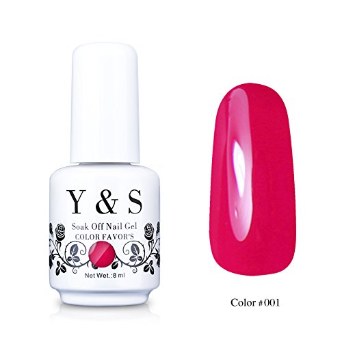 Yaoshun-Deep-Pink-Gelpolish-Soak-off-Gel-Nail-Polish-UV-LED-Nail-ArtBeauty-Care-8ml-001
