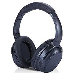 TSdrena Bluetooth4.1ノイズキャンセリングオーバーヘッドホン (英国CSR社チップ搭載/apt-X対応) 通話マイク搭載 密閉型/折りたたみ式 AUD-BSHDP02
