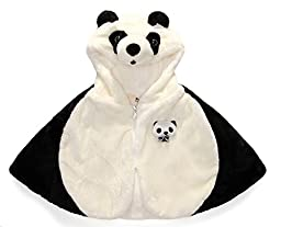 Topwon Panda Baby Winter Poncho Cape Top Mantle Wrap 0-9 Months