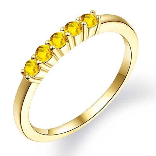 043-Ct-Round-Yellow-Sapphire-14K-Yellow-Gold-Ring