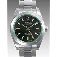 [ロレックス] ROLEX 腕時計 ミルガウス 116400GV ブラック グリーンガラスメンズ [並行輸入品]