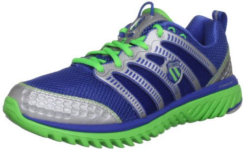 K-Swiss Men's Blade Light Run Np Synthetic/Fabric Strong Blue/Neon Lime/Silver Lace Up 02916-430-M 6.5 UK