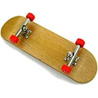 Stormdeck Professional Maple Complete Wooden Finger Skateboard Party Favors Gift For Kids Red Wheel