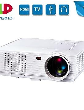 powerful® 1280 * 800 projecteur de résolution native Full HD maison de projecteur LED Cinema 3D, entreprise 1080p portable projecteur , eu