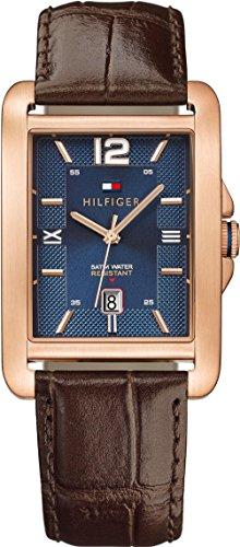 Tommy Hilfiger Herren-Armbanduhr Analog Quarz Leder 1791198 thumbnail