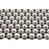 100 3/8 inch Diameter Nickel Plated Bearing Balls G1000 Ball Bearings VXB Brand
