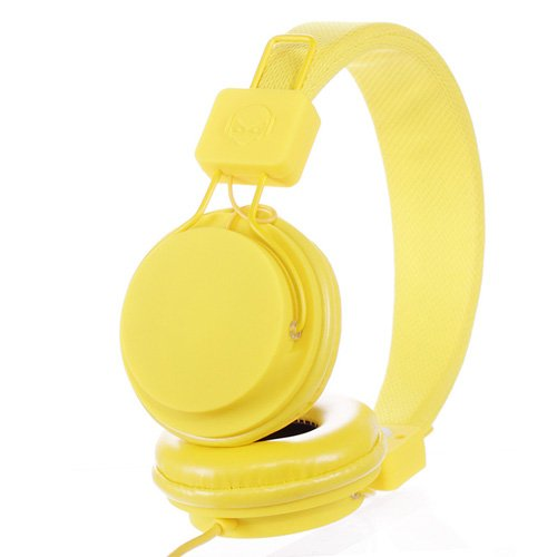 Subjekt Tnt-Qm1254 Tnt Headphones With Microphone - Retail Packaging - Yellow