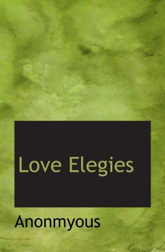 Love Elegies