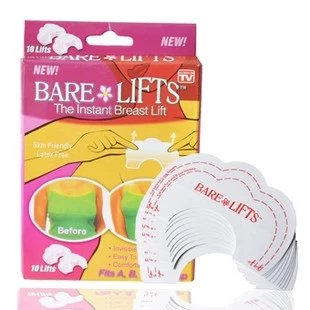 Review Of Instant Breast Lift Bra Tape New Cleavage Shaper,10 Lifts