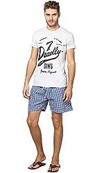 Y.U.V.I. Mens Boxer Shorts (Color-Navy)