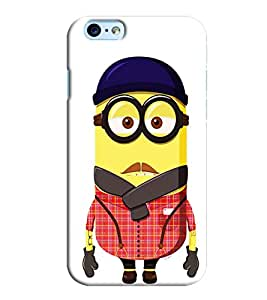 Omnam Minion In Dress Printed Designer Back Cover Case For Apple Iphone 6