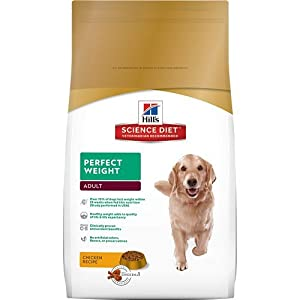 Hill's Science Diet Dog Adult Perfect Weight Dog Food, 28.5 lb