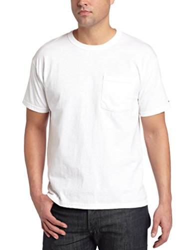Russell Athletic Men's Pocket Tee, White, XXX-Large