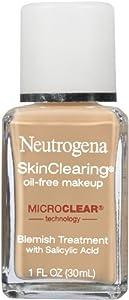 Neutrogena SkinClearing Liquid Makeup, Nude 40, 1 Ounce